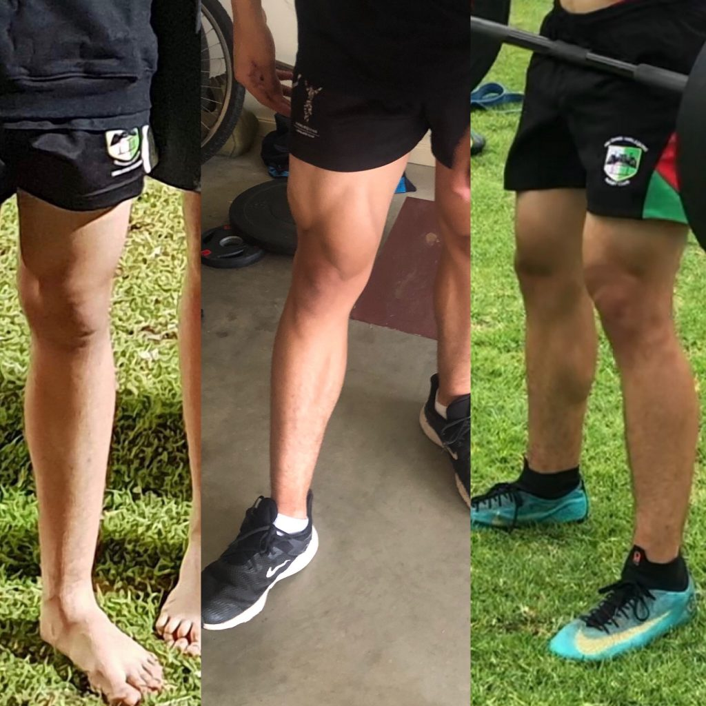 Ahmed's Rugby legs