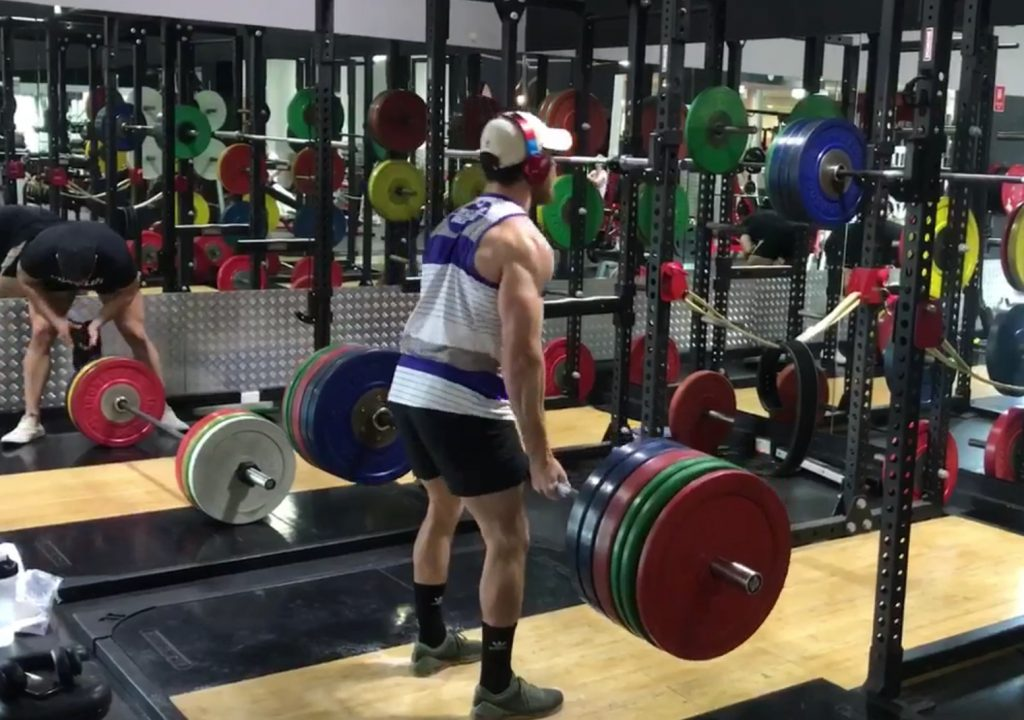 Most bang for the buck exercises for rugby – deadlift