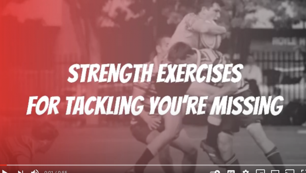 Strength Exercises for tackling you are missing